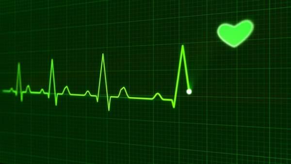 Imagen de un pulso de corazón