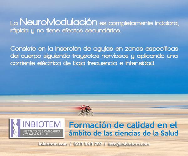 Curso neuromodulación de INBIOTEM.