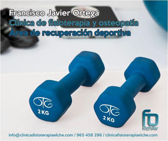 Recuperación deportiva. clinicafisioterapiaelche.com