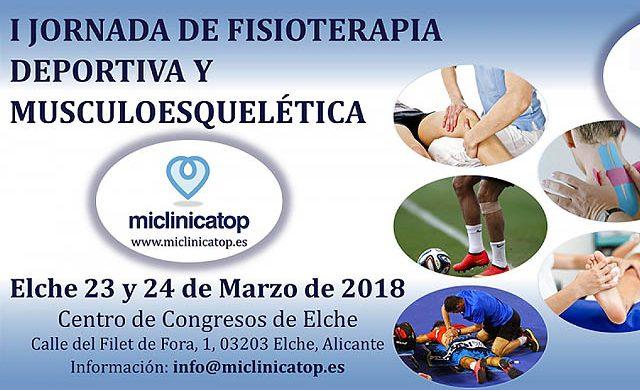 Jornadas de fisioterapia deportiva en Elche
