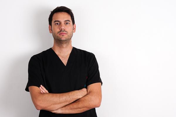 Sergio Tourmanian, fisioterapeuta